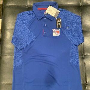 Majestic Cool Base New York Rangers Polo Shirt